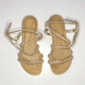 Marietta Italian Beige Sandals Size Approx 1.5